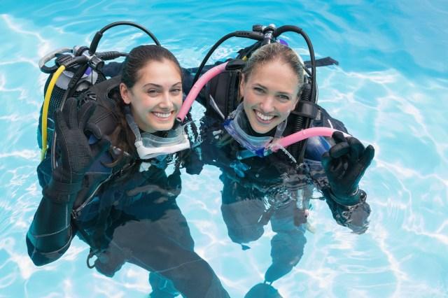 Scuba Diving Friends