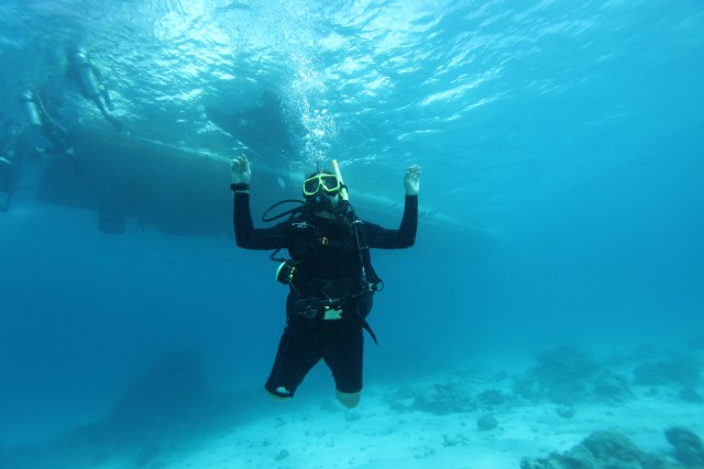 Nitcharee Peneakchanasak - Amputee Diver