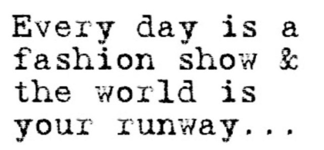 world is your runway