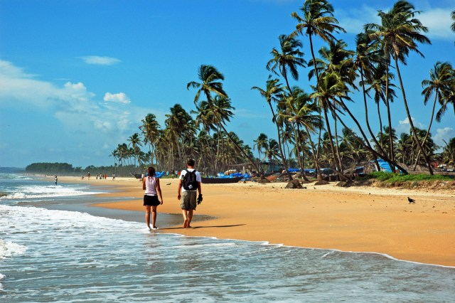 The beaches of Goa are the perfect destination for aVacation