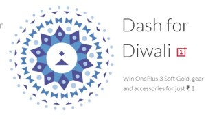 oneplus rs 1 diwali flash sale