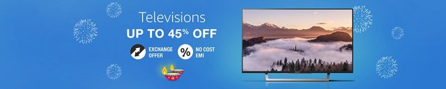 amazon great indian sale on television