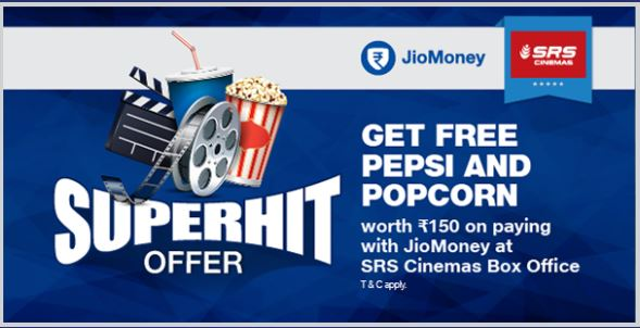 JioMoney SRS Cinema offer