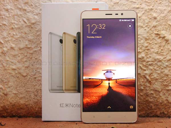 Redmi Note3 Amazon offers