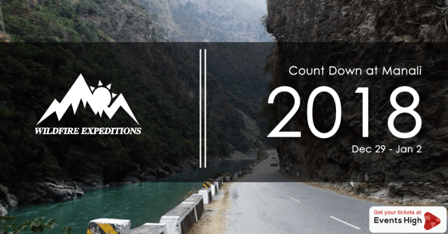 Count Down At Manali : New Year Party 2018
