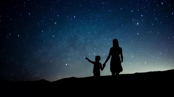 Star Night Sky Humanity