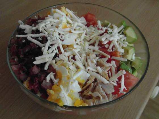Jednoduchý Cobb salát