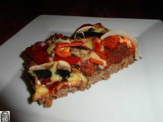 Meatza  - hotová -