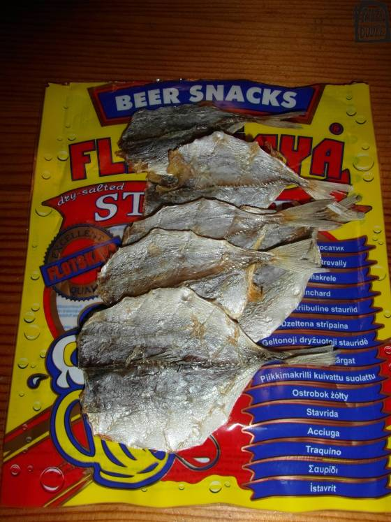 Rybí jerky