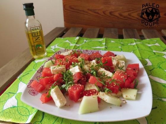 Melounový salát s fetou