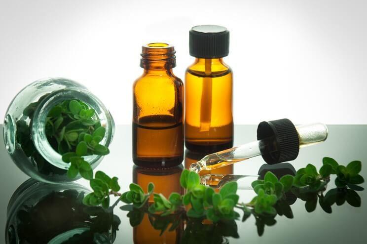 oil of oregano bottles