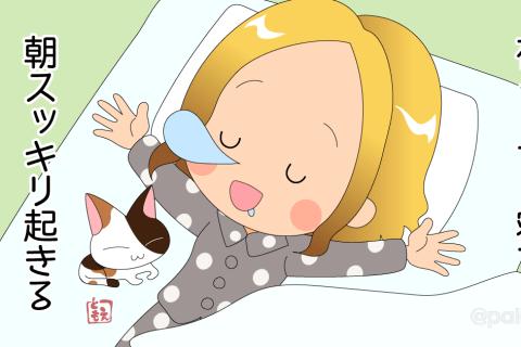 【無料相談】夜ぐっすり寝て朝スッキリ起きる方法はありますか?|回答その1