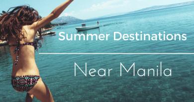 summer destinations near manila