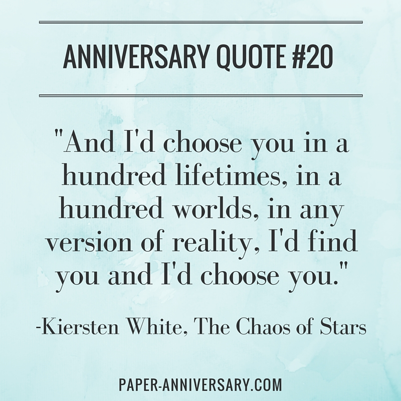20 perfect anniversary quotes