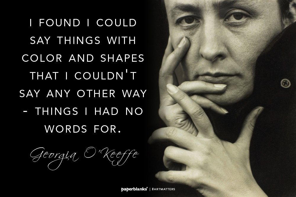 Image result for georgia o'keeffe quotes