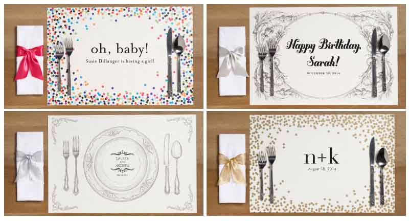 new personalized napkins and