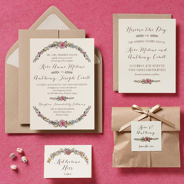 Paper Source 2017 Wedding Invitation Collection