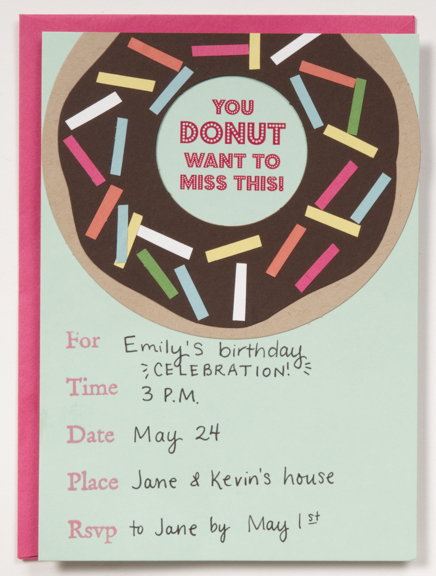 Invitation Cut Out