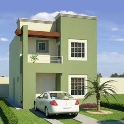 casa colores exterior pintura pintar fachadas combinaciones exteriores casas fachada pastel verde tu pinturas modernos modernas moderno frente pequena pintadas