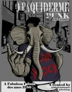 O Paquiderme Punk em Tirinhas