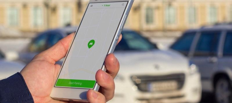 ParkMan parking app