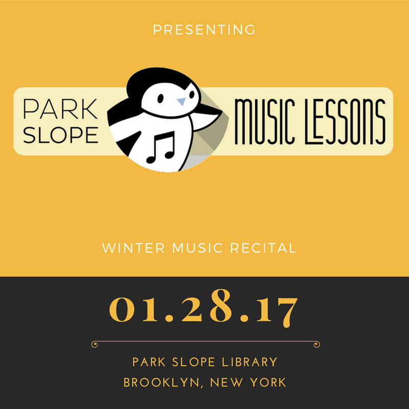 winter music recital 2017