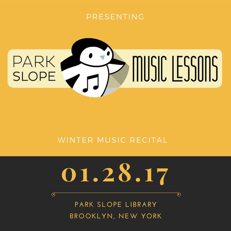 winter music recital 2017