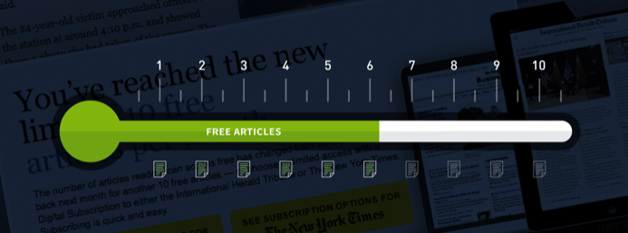free article paywall meter
