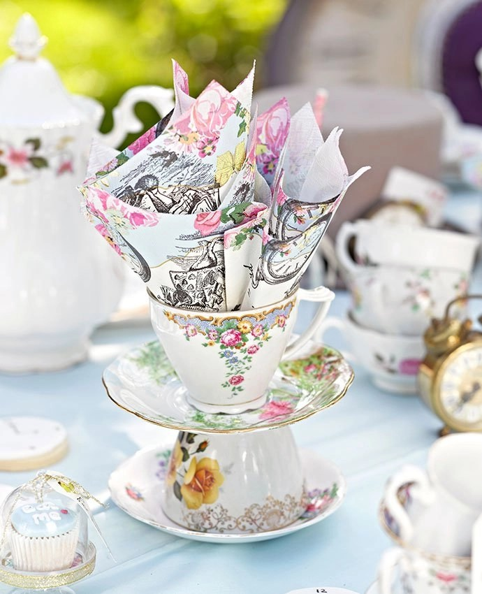 How to Throw an Alice in Wonderland Tea Party  Party