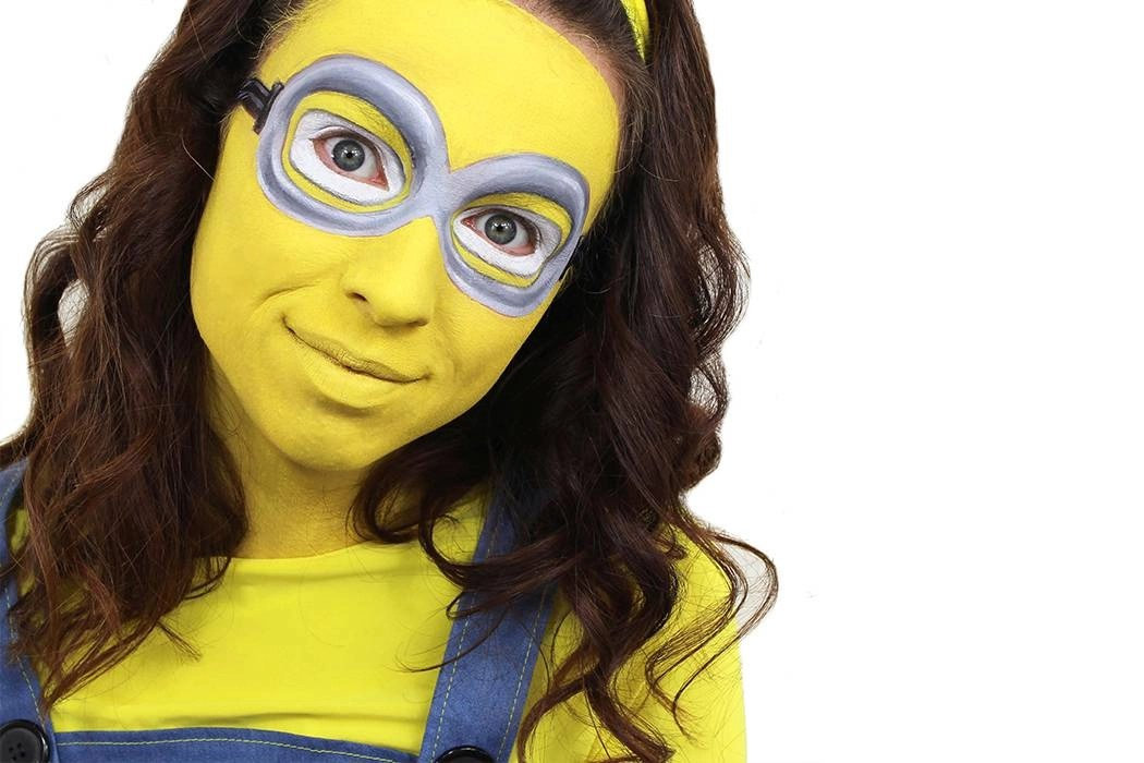 Easy Minion Face Paint Tutorial Party Delights Blog