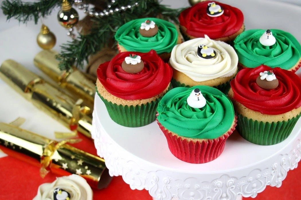 Easy Christmas Cupcakes Decorating Ideas