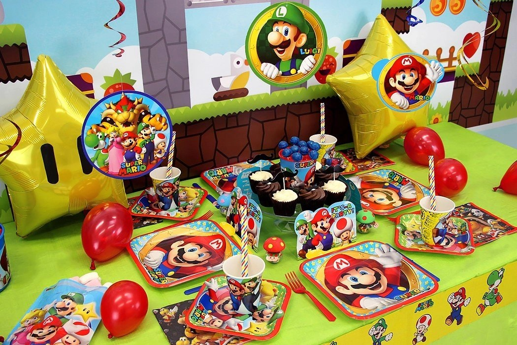 Super Mario Party Ideas Party Delights Blog