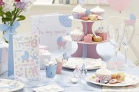 Pink And Blue Baby Shower Ideas | Party Delights Blog