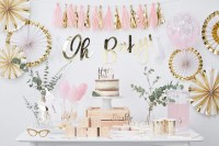 Pink & Gold Baby Shower Ideas | Party Delights Blog