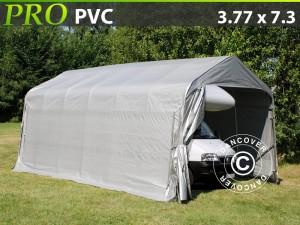 Mobiele garage-PRO-3.77X7.3X3.24X2.74-M-PVC
