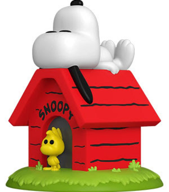 PEANUTS- SNOOPY ON DOGHOUSE