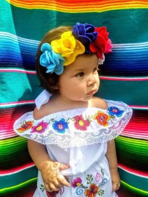 bílá halenka mexiko