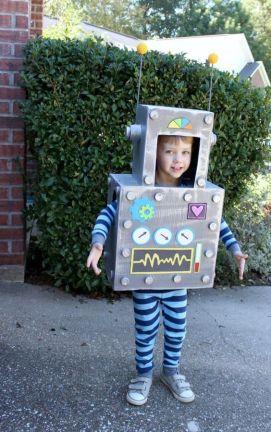 Dětský kostým robota