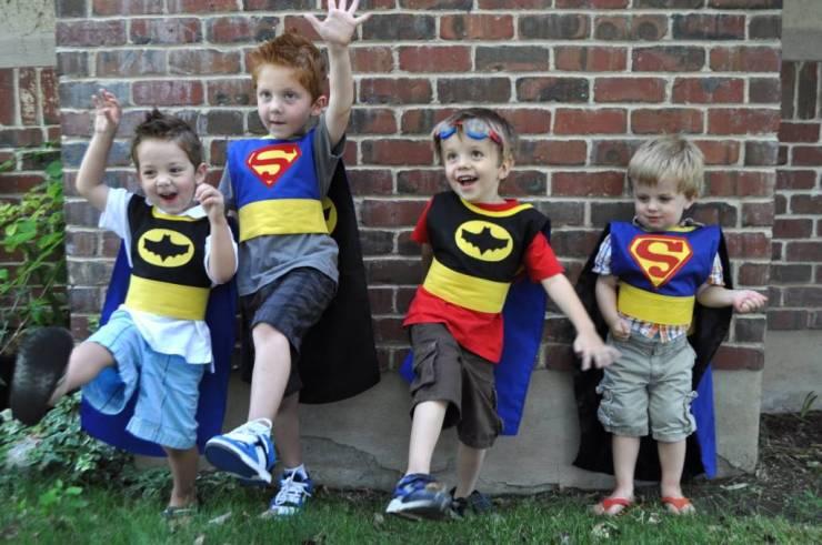 Superhrdina kostým