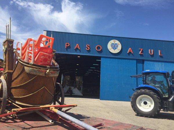 Actual nave del Paso Azul.