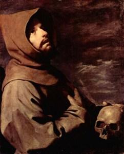 San Francisco de Asís en Oración, Zurbarán (1598-1664)