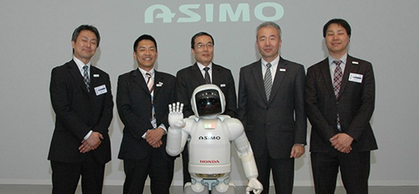ASIMO et ses pères fondateurs