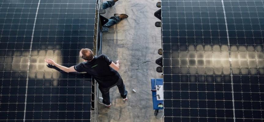 Des cellules photovoltaïques extrêmement souples et légères.