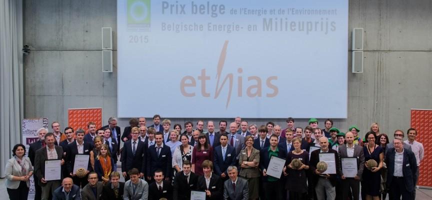 L'ensemble des lauréats de l'édition 2015.