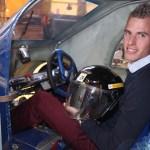"""A Londres, Julien sera le pilote. Pour la catégorie """"voiture urbaine"""", il faut prendre en compte le confort du pilote et intégrer un coffre."""