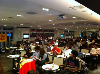 2011 Rd14 PIT-FM F1 MEETING@シンガポールGP