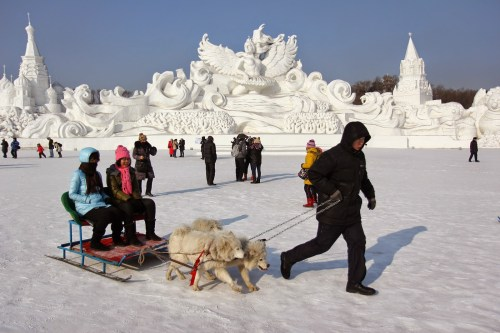 Passpod, Harbin Ice, Harbin Festival, Ice