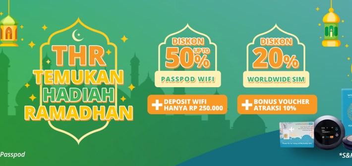 Passpod, Wifi Murah, Diskon Wifi, Simcard murah luar negeri, sewa modem wifi murah, sewa wifi murah, tiket atraksi murah