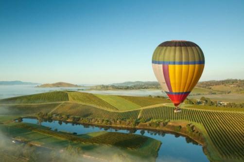 Passpod, Melbourne, Australia, Balon Udara, Balon udara australia