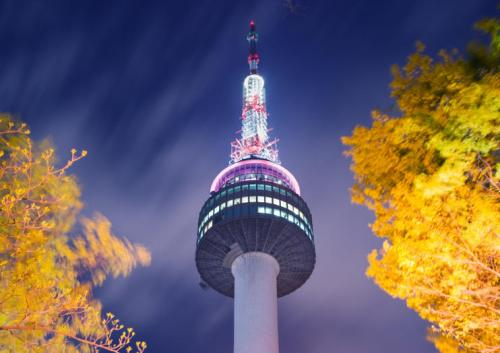 N Seoul Tower, Namsan Seoul Tower, Korea